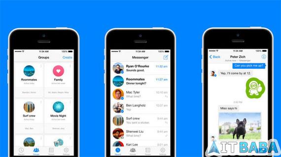 Download Facebook Messenger v4.0 for iOS