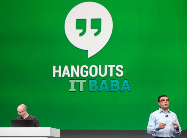 Google Hangouts 2.0 For iOS